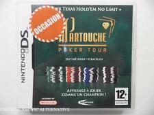 OCCASION: jeu PARTOUCHE POKER TOUR sur nintendo DS en francais reflexion casino