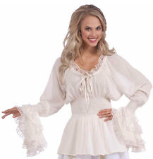 Womens Full 18-22 Adult Lady Blouse Medieval Costume - Renaissance and Medieval