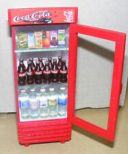 1:12 Scale Single Door Coca Cola Cooler Tumdee Dolls House Coke Drink Accessory