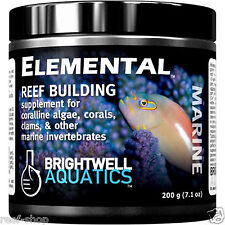 Brightwell Elemental 200 gram Powder Reef Building Supplement for Live Corals