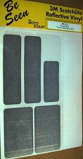 BMW R1200GS 2005-2012 OEM Top Case Black Reflective Vinyl Tape Kit
