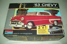 MONOGRAM  1953  CHEVY    1:24 scale   kit