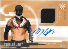 #21 TOPPS AUTHENTIC FINN BALOR AUTOGRAPH RELIC CARD AUTO SIGNED