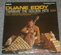 """DUANE EDDY Twangin' The Golden Hits 12"""" Vinyl LP Album RCA INTS1057 DA"""