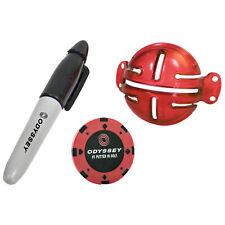 Odyssey Eye-It-Up Putt Ausrichtung Set Line Up Stift Ballputter Training Hilfe