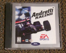 Mario Andretti Racing Rare Vintage EA Sports PC Game Windows COMPLETE Near Mint