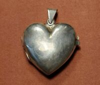 """Sterling Silver Heart Photo Locket """"Best Mother In The World"""" 8g"""