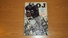 O.J. The Education of a Rich Rookie by Simpson/Axthelm HC/DJ FIRST EDITION 1970