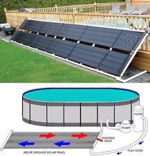 "24"" x 20' Inground / Above Ground Pool Solar Panel Pool Heater 40 Sq Ft 2' x 20'"