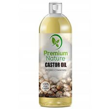 Castor Oil For Hair Growth Treatment Skin Face Eyelashes Eyebrows Loss Dry Hair