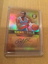 2011-12 Panini Gold Standard Signs of Gold Chris Paul 19/25 Auto