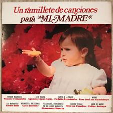 UN RAMILLETE DE CANCIONES PARA MI MADRE LP VICENTE FERNANDEZ CUCO SANCHEZ VG++