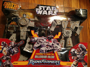 Star Wars Transformers: Millennium Falcon Action Figure 2006  Hasbro