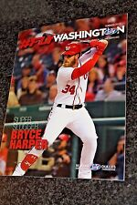 Bryce Harper Cover -- Fly Washington Magazine -- Washington Nationals