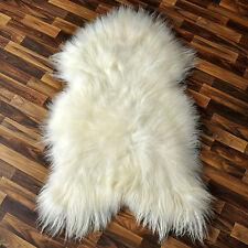 XL ÖKO Island Schaffell Lammfell 100-110 x 60-70 cm Fell creme weiß Perchten