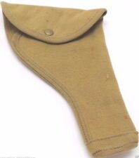 1943 British 455 webley holster tan canvas fits US 45 unclear marks each E7510