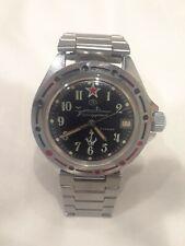 Vintage Vostok Amphibian Military Russian Wrist Watch for Men