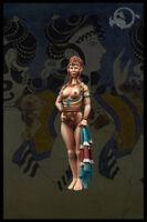 Minoan Lady II Little Dragonettes 40mm El Viejo Dragon Miniaturas Pin Up LD60