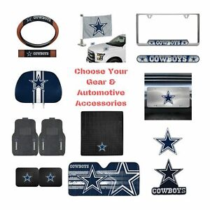 NFL Dallas Cowboys Select Your Gear Auto Accessories Official Licensed