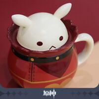 Game Anime Genshin Impact Klee Bomb Mug Cute Coffee Milk Ceramic Tea Cup Gift