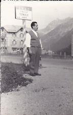 VERA FOTO DEL PASSO DEL TONALE A.N.A.S. ALBERGO MIRAMONTI   13-5
