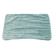Striped Flannel Throw Pillowcase Cushion Cover for Sofa Couch for Home