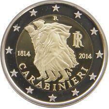 2€ EURO Italia commemorativi 200° Fondazione dell'Arma dei carabinieri SPL