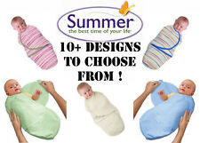 Summer Infant Swaddle Me Small All Colours Baby Swaddling Wrap Small Large
