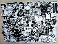 60 Random Stickers Vinyl Skateboard Guitar Travel Case sticker pack decals Mix
