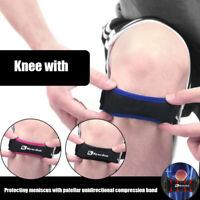 Soft Brace Knee Protector Belt Patella Tendon Strap Guard Support Health