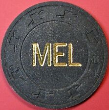 $100 Casino Chip. Mel Card Room, San Rafael, Ca. Q19.