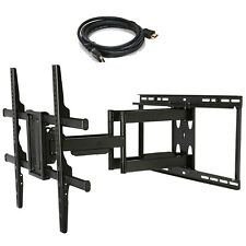 "Full Motion TV Wall Mount for Vizio Samsung Sharp LG Toshiba 40""~88"" LED HD C8F"