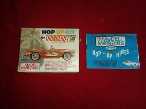 Vintage 1964 Aurora  Hop Up Kit  for Thunderjet 500 Box Booklet Kit No. 1462-98