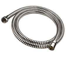 COOKE & LEWIS UNIVERSAL REPLACEMENT PVC SHOWER HOSE BLACK/SILVER 1.5 Metre-NEW
