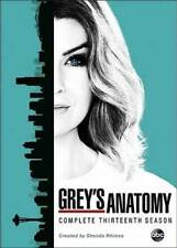 Grey's Anatomy:The Complete Thirteenth Season 13(DVD,2017,6-Disc Set)NEW Greys