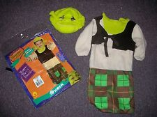 Bunting Shrek the Third child costume Newborn NOS Rubies Dreamworks Infant baby