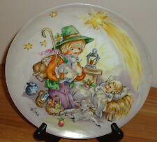 Goebel A Midnight Clear Collector's Plate Lore Christmas in Kinderland Series 83