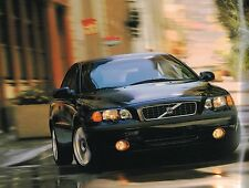 2001 VOLVO S60 Brochure / Catalog with Color Chart: S-60, T5,Touring,Premium,T-5