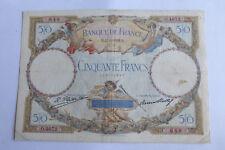 50 Francs LUC OLIVIER MERSON 21/8/1929