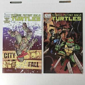 IDW Teenage Mutant Ninja Turtles #22 CVR-A & CVR-B (2013) VF/NM Comic Lot