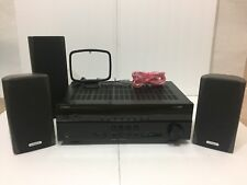 Yamaha RX-V373 HDMi Dolby 250 Watt AV Receiver w/ Cambridge Soundworks Speakers
