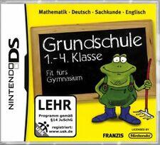 NINTENDO DS 3DS GRUNDSCHULE 1-4 MATHE DEUTSCH ENGLISCH Top Zustand