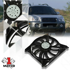 Radiator Cooling Fan OE Style Assembly for 01-05 Santa Fe Left Side HY3115108