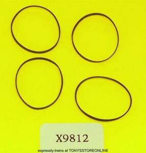 hornby oo new spares x9812 1x pack of 4 traction tyres  (26mm)