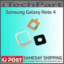 Samsung Galaxy Note 4 N910 Camera Lens Cover Replacement WHITE