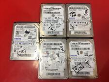 "5 x 500GB 2.5"" HARD DRIVE SEAGATE ST500LM012 HM500JJ/D HM500JI HM500JJ/M (33)"