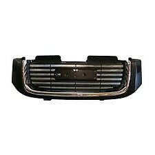 FRT GRILLE SLT WITH HEAD LIGHT WASHER HOLES FOR 02-09 GMC ENVOY GM1200504