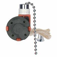 Satco 3 Speed Ceiling Fan Switch Nickel - 801983 (1)