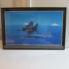Framed Mach 1, Inc. 10th Anniversary Photograph of Fighter Jets (1996)