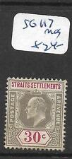 MALAYA STRAITS SETTLEMENTS    (P0206B)  KE 30C  SG 117   MOG